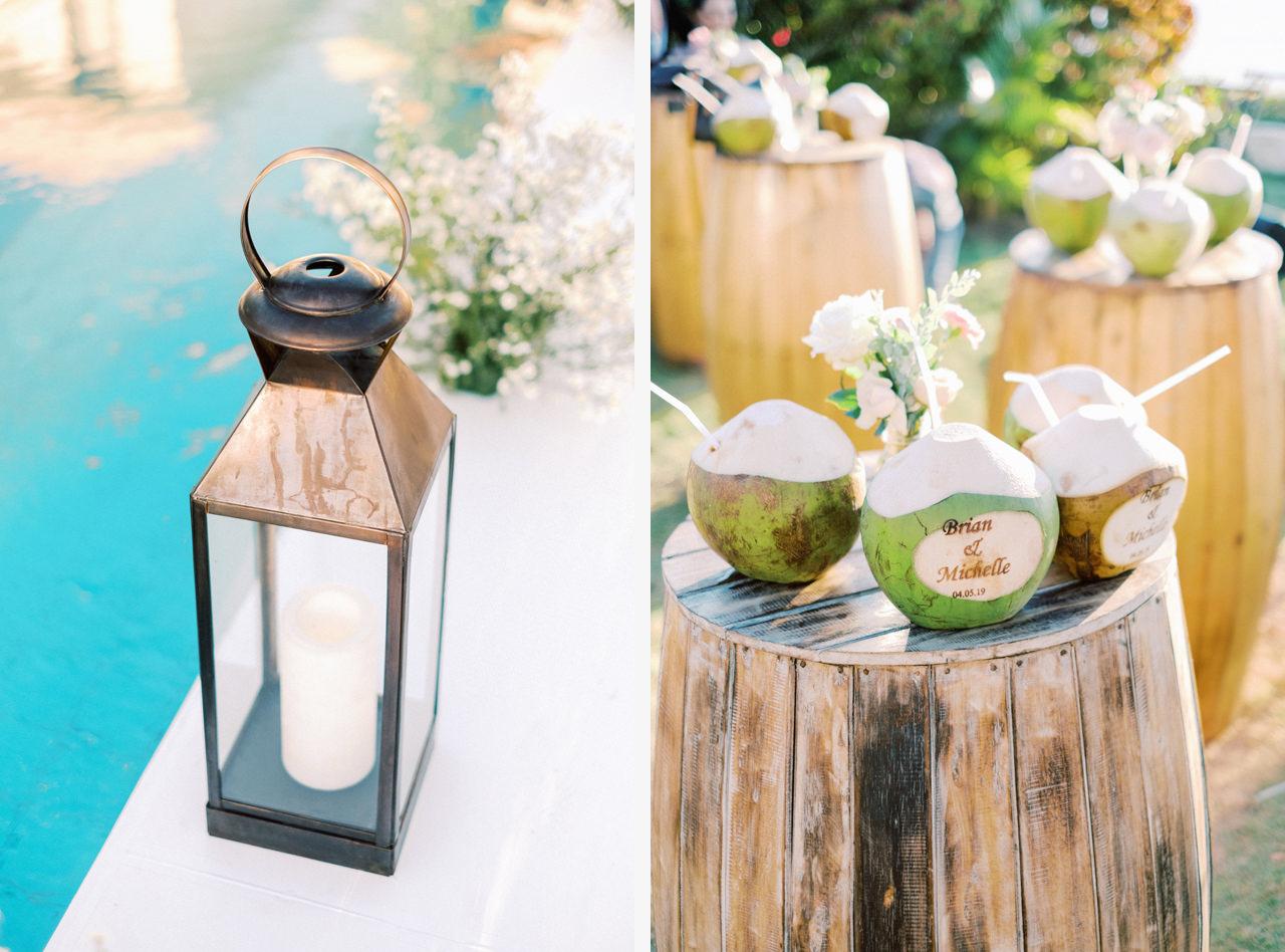 Poolside Bali Wedding Venue