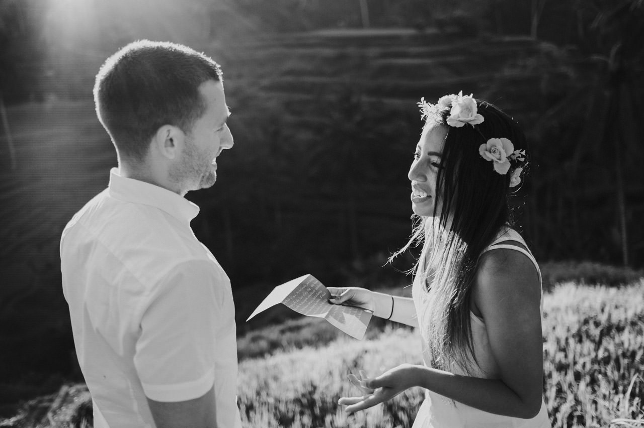 Bob & Vanessa: Ubud Bali Surprise Proposal Photography 1