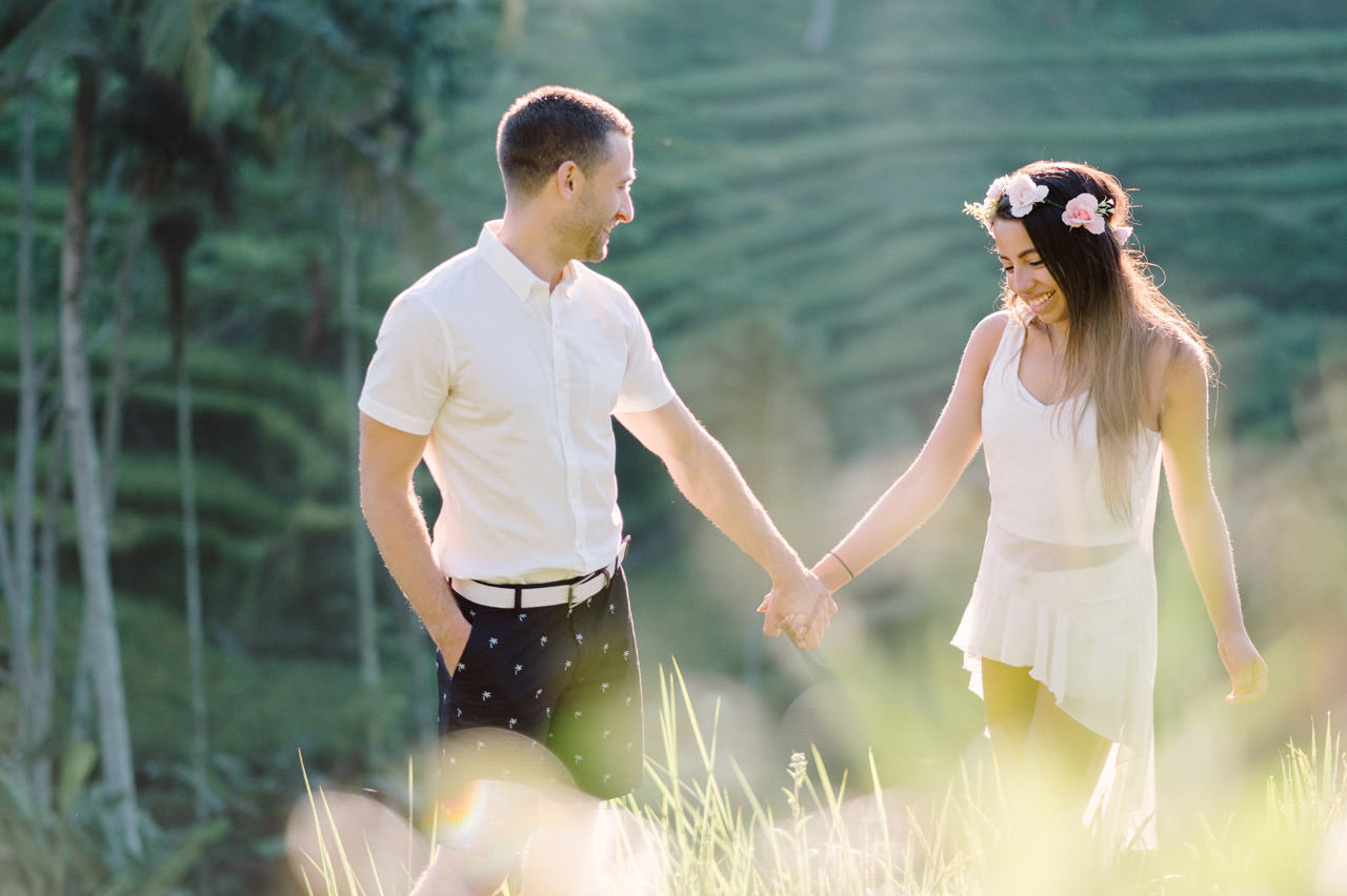 Bob & Vanessa: Ubud Bali Surprise Proposal Photography 10