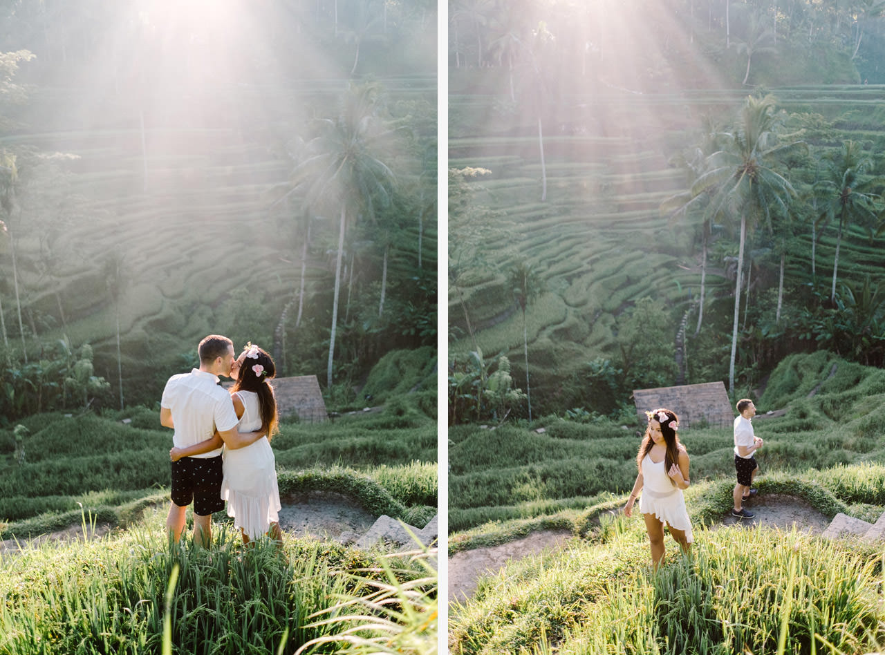 Bob & Vanessa: Ubud Bali Surprise Proposal Photography 13