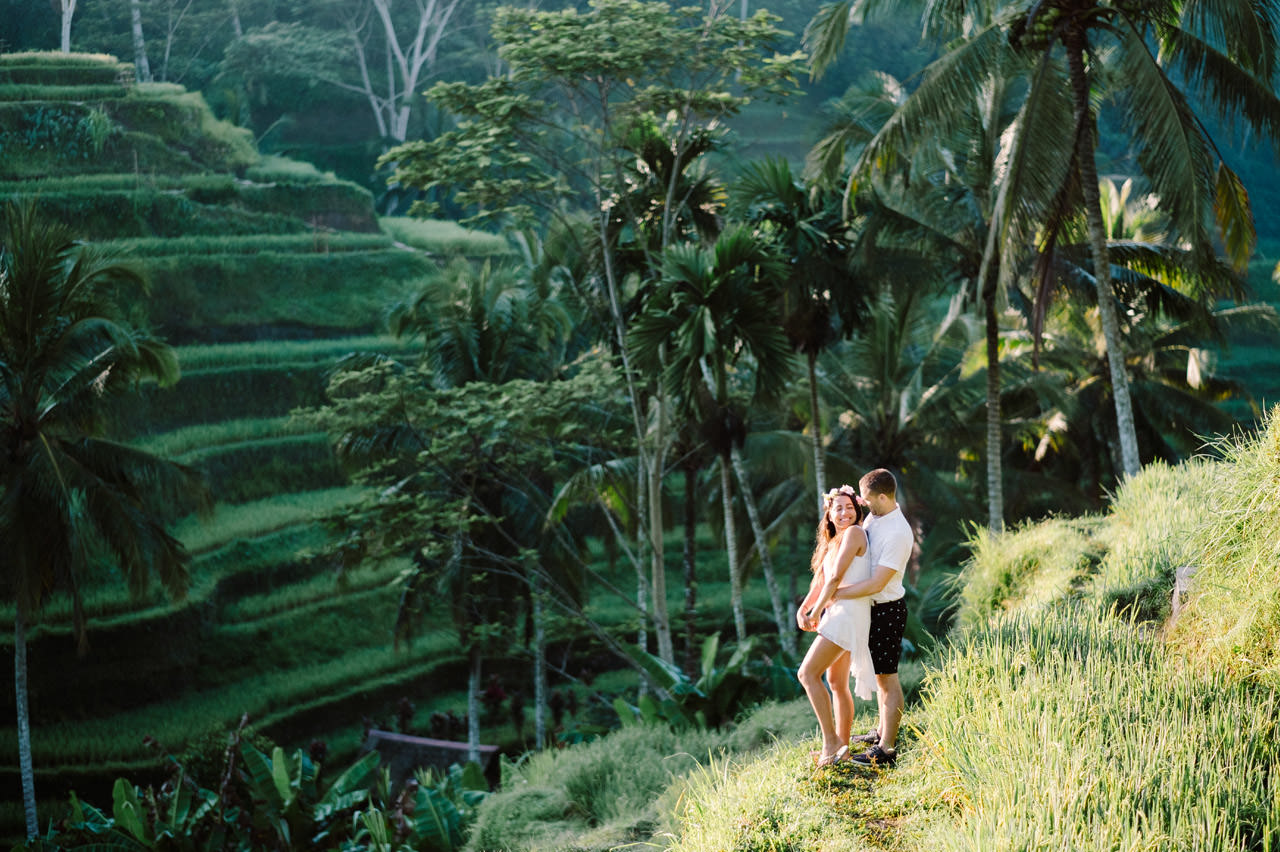 Bob & Vanessa: Ubud Bali Surprise Proposal Photography 14