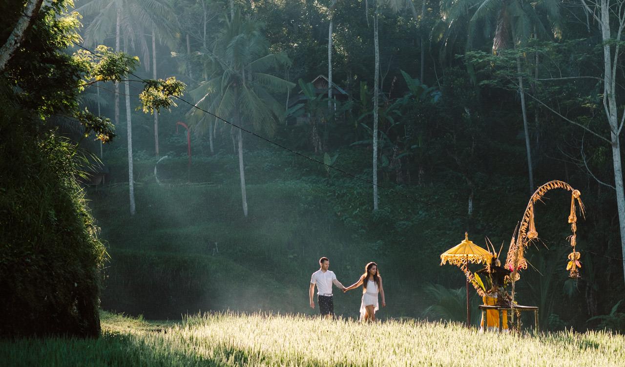 Bob & Vanessa: Ubud Bali Surprise Proposal Photography 19