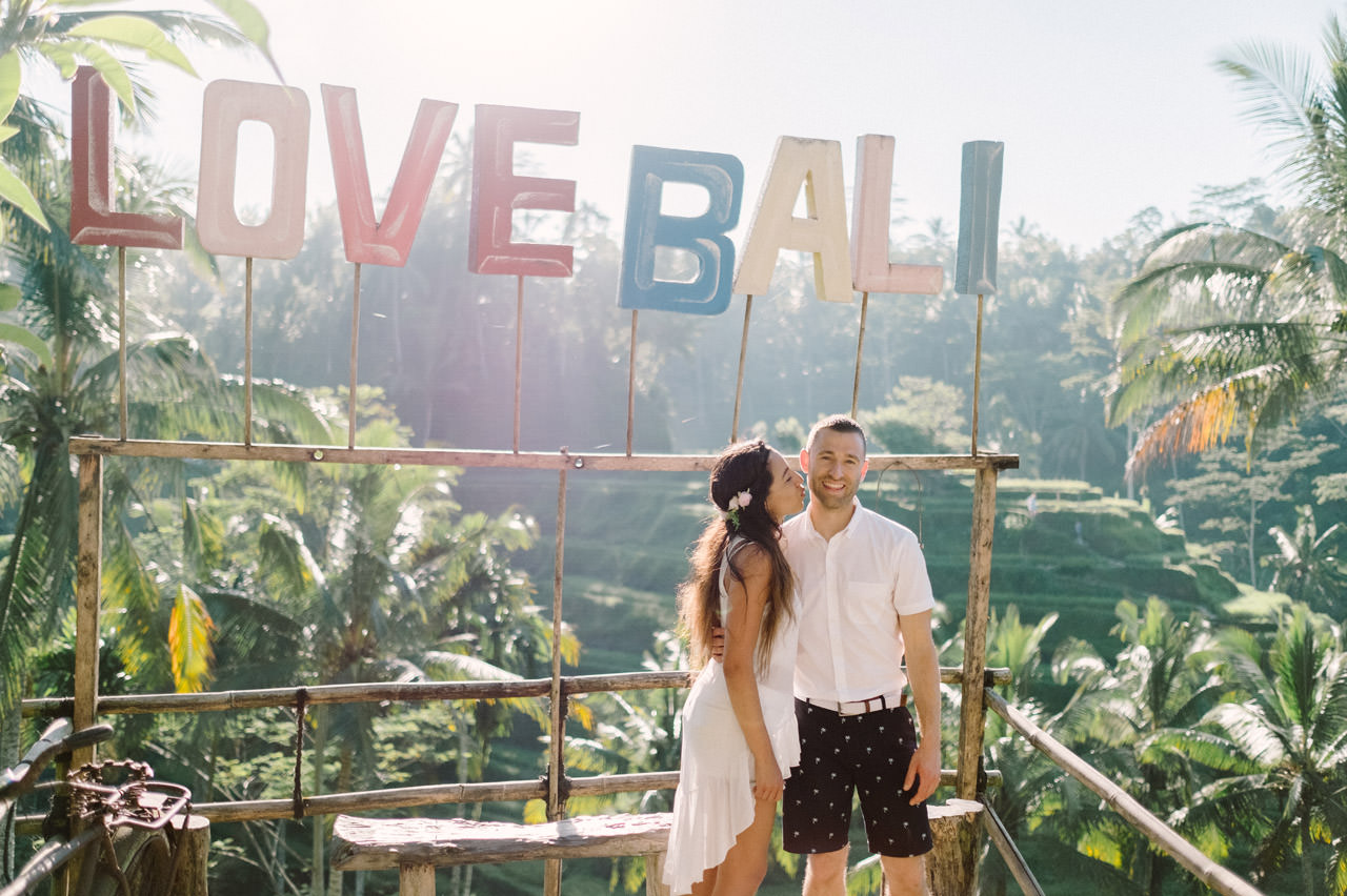 Bob & Vanessa: Ubud Bali Surprise Proposal Photography 20