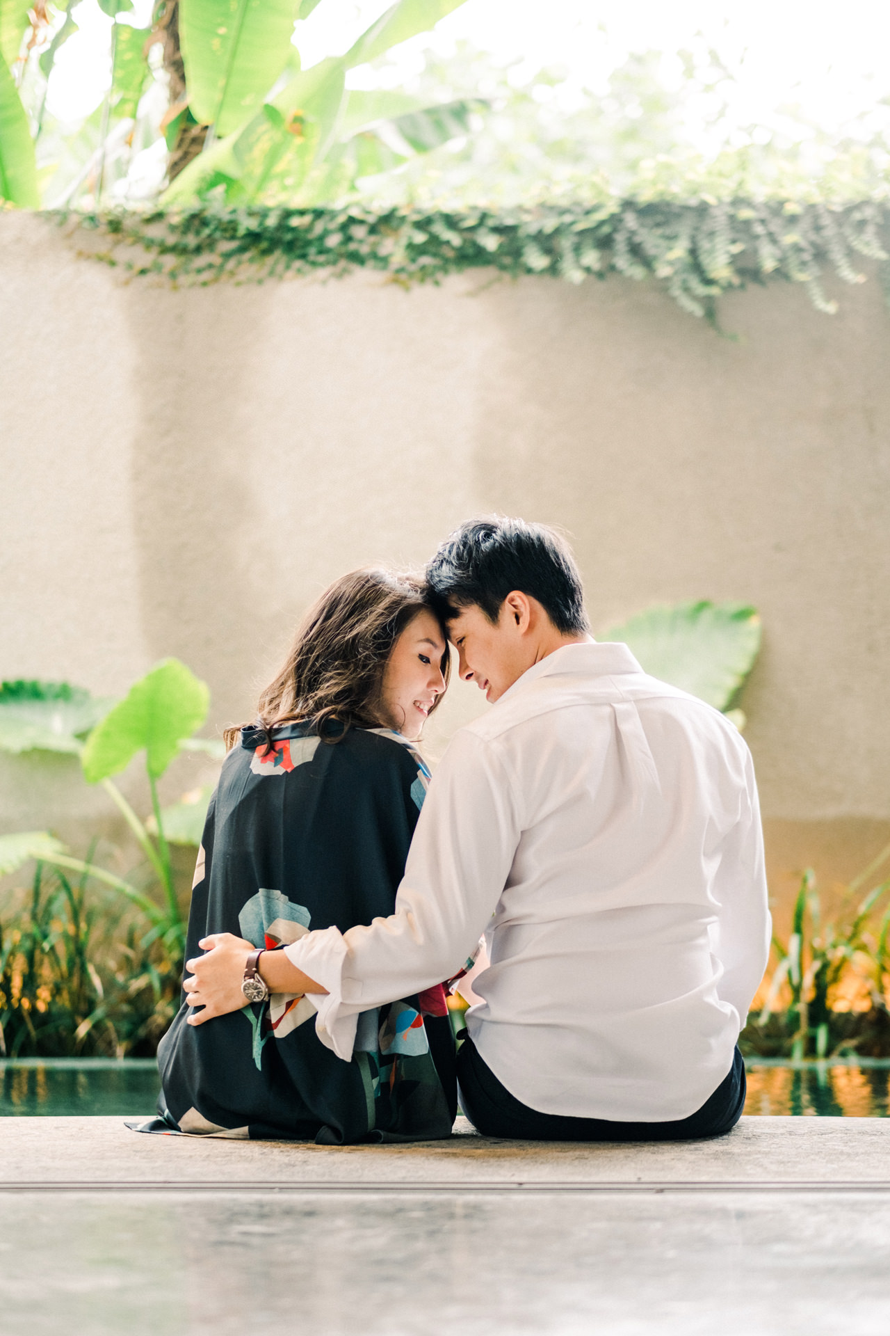 C&A: The Slow Bali Indoor Engagement Session 5