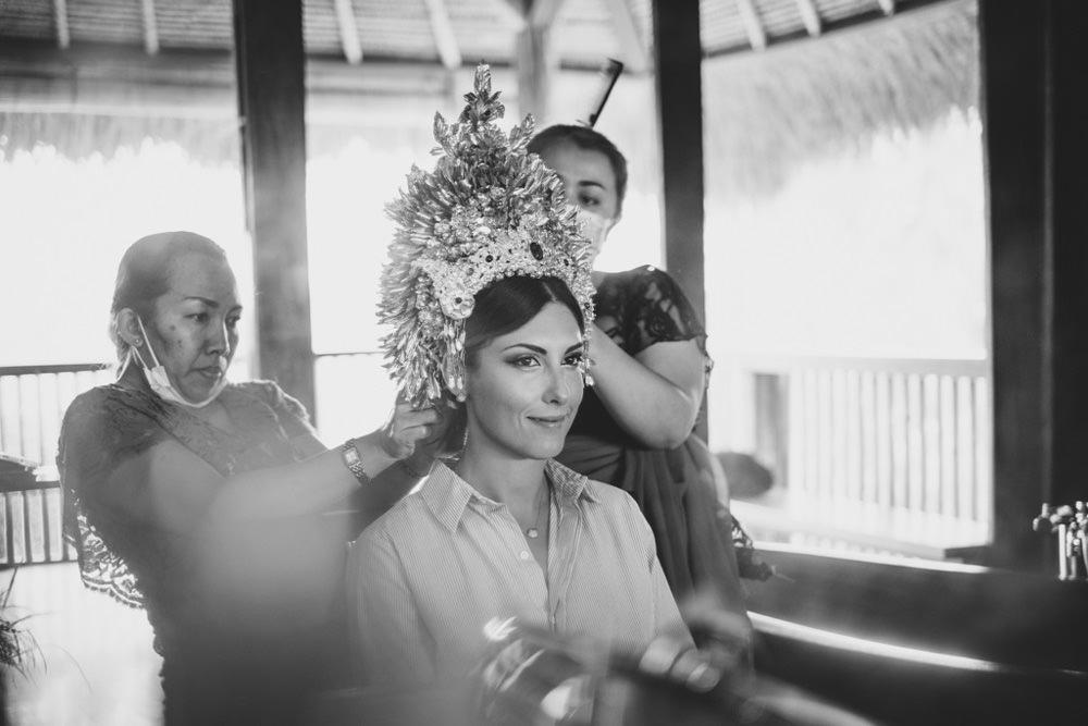 Cliff & Biana Traditional Bali Wedding 4