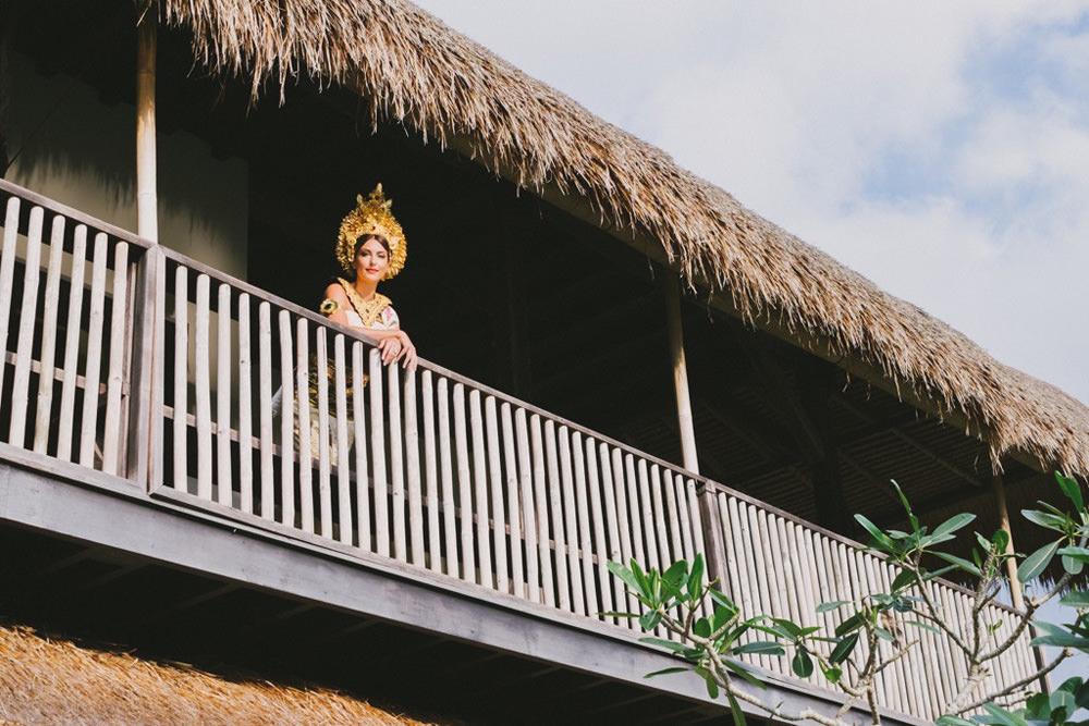 Cliff & Biana Traditional Bali Wedding 9