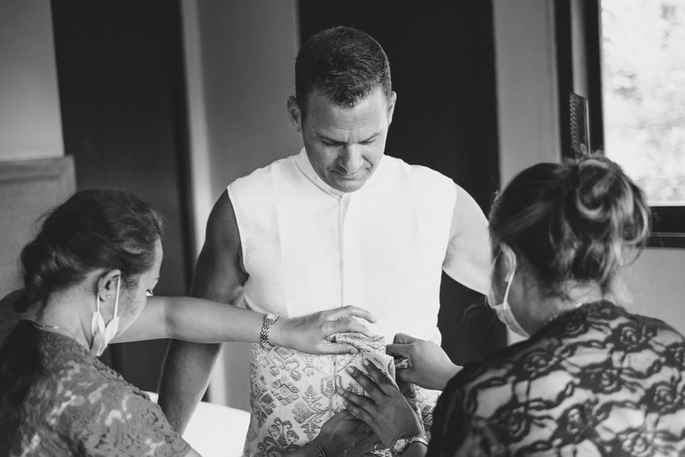 Cliff & Biana Traditional Bali Wedding 10