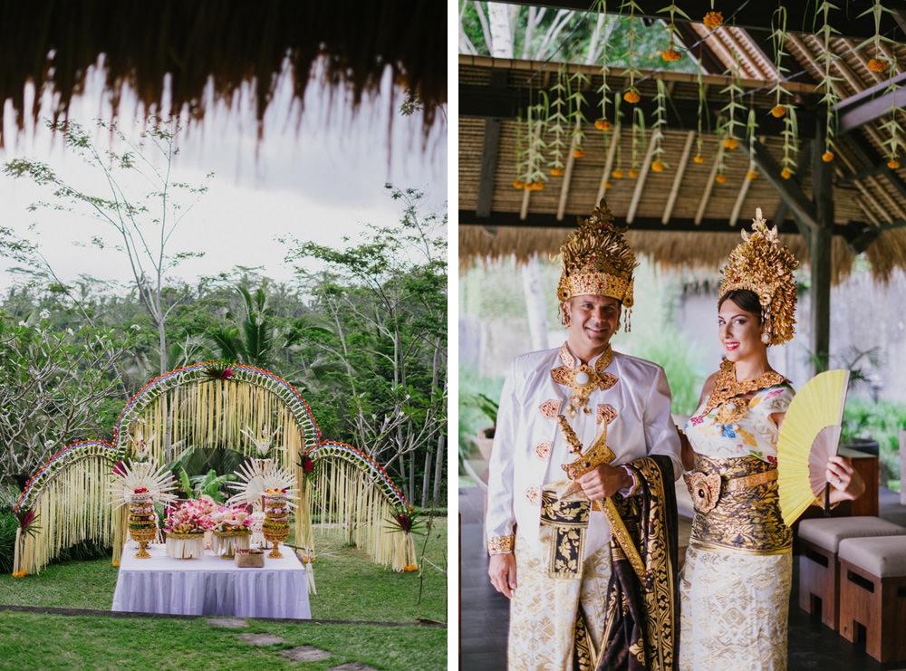 Cliff & Biana Traditional Bali Wedding 19