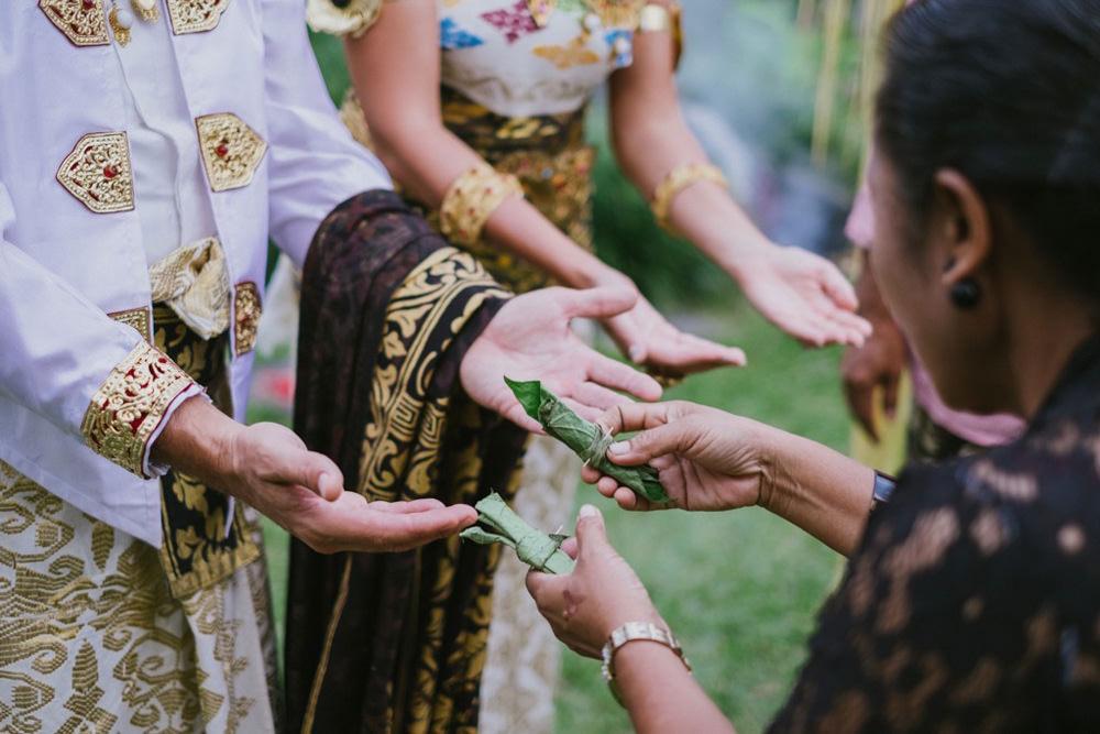 Cliff & Biana Traditional Bali Wedding 28