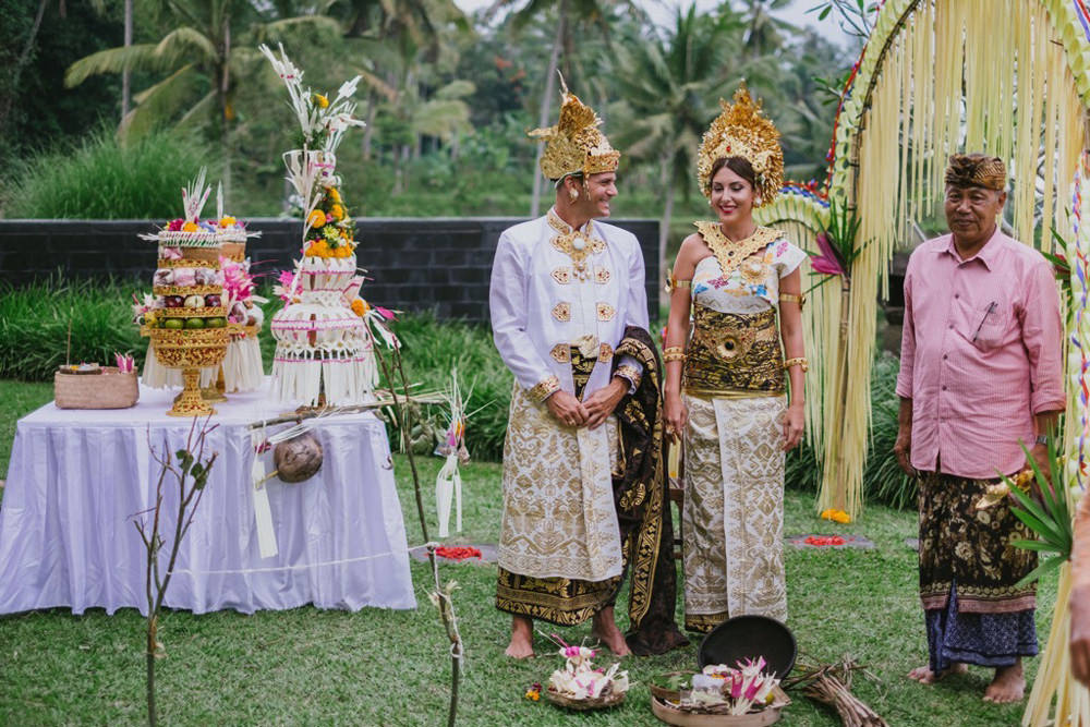 Cliff & Biana Traditional Bali Wedding 29
