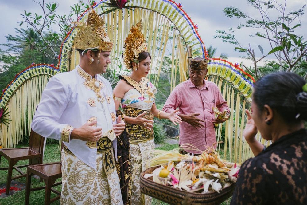 Cliff & Biana Traditional Bali Wedding 30