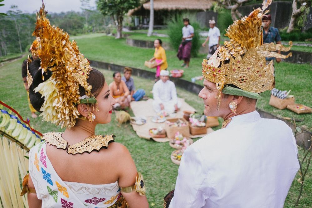 Cliff & Biana Traditional Bali Wedding 31
