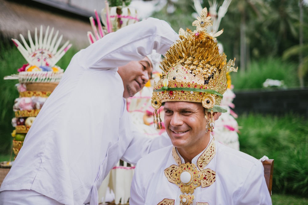 Cliff & Biana Traditional Bali Wedding 33