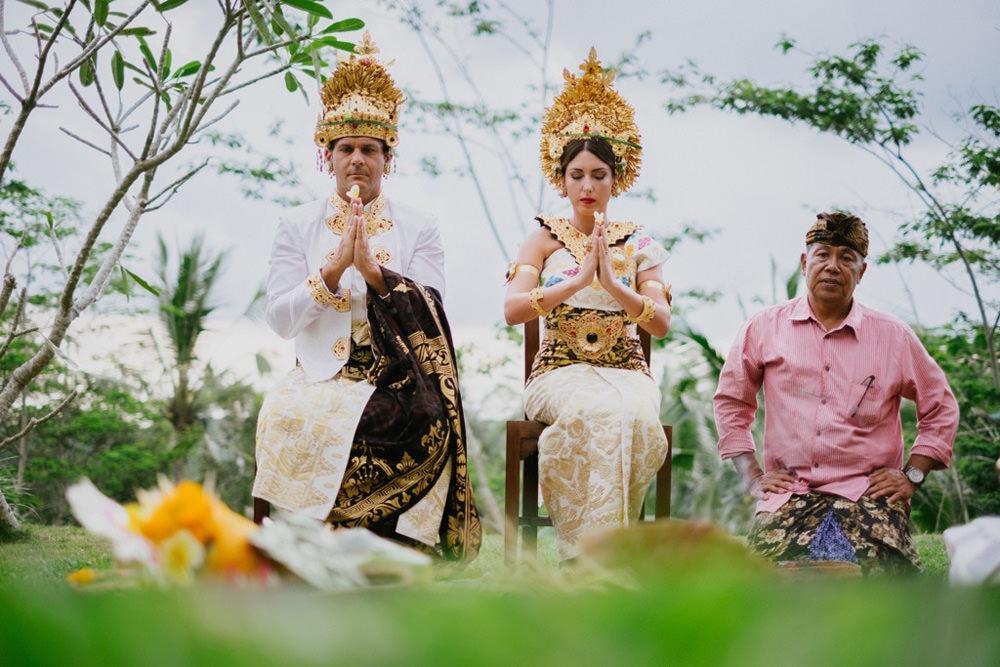 Cliff & Biana Traditional Bali Wedding 35