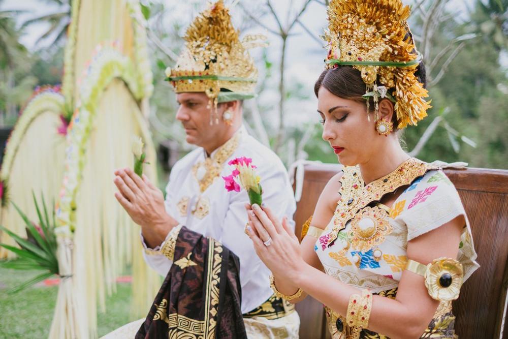 Cliff & Biana Traditional Bali Wedding 36