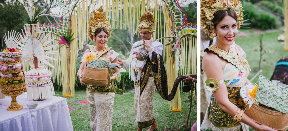 Cliff & Biana Traditional Bali Wedding 37