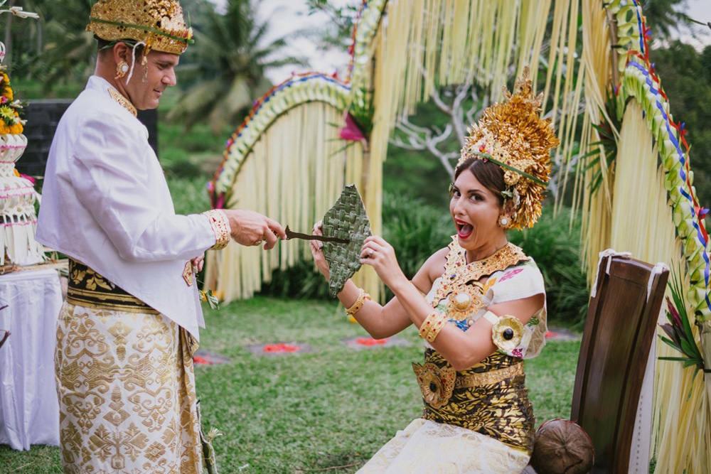 Cliff & Biana Traditional Bali Wedding 40