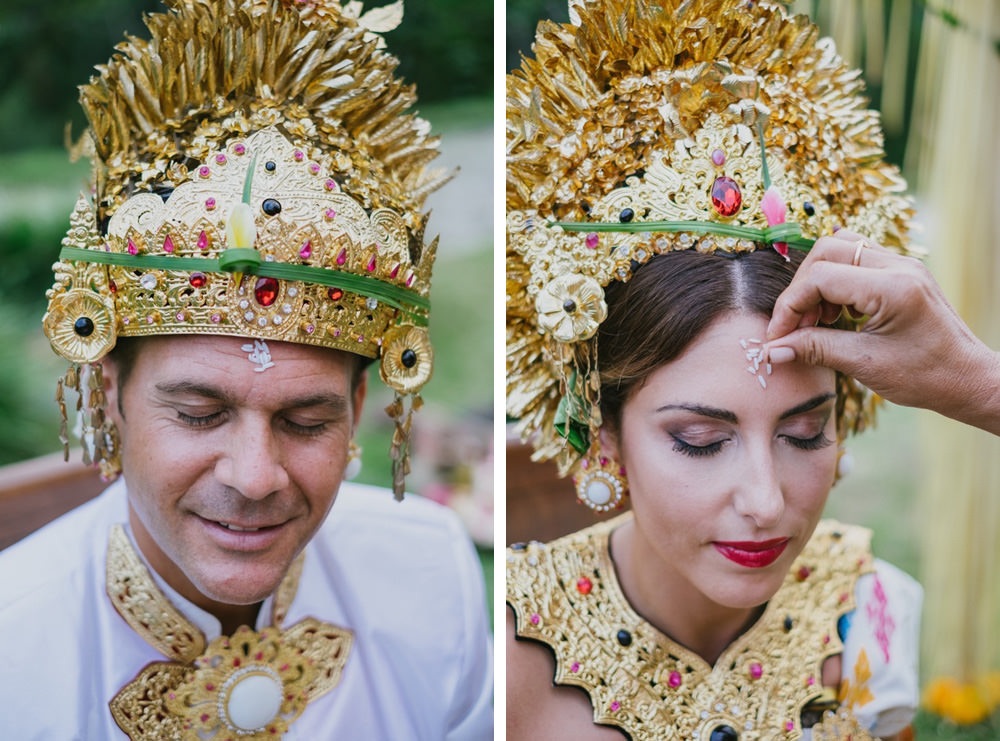 Cliff & Biana Traditional Bali Wedding 42