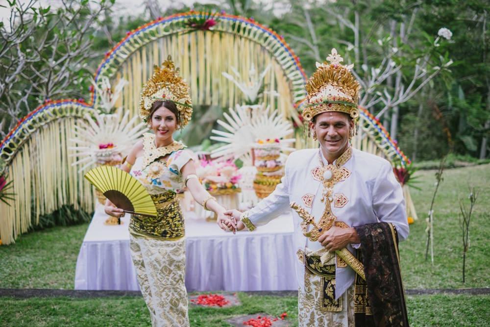 Cliff & Biana Traditional Bali Wedding 44