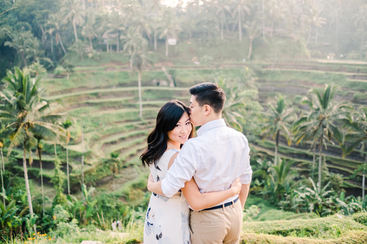 C&B: Romantic Bali Waterfall Engagement Session 1