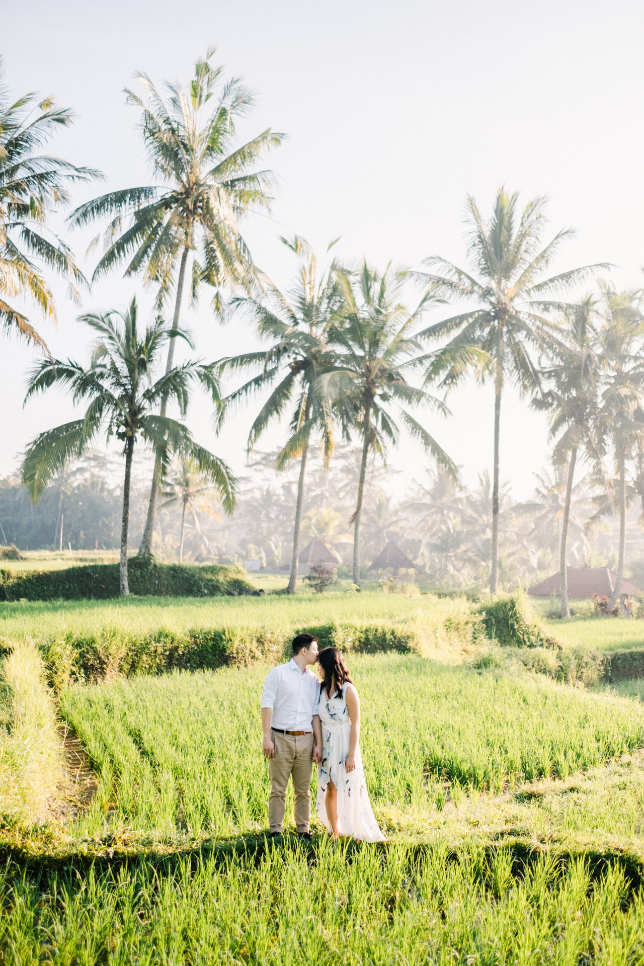 C&B: Romantic Bali Waterfall Engagement Session 6
