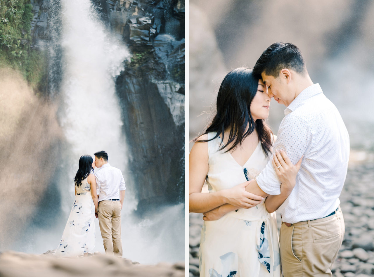 C&B: Romantic Bali Waterfall Engagement Session 11