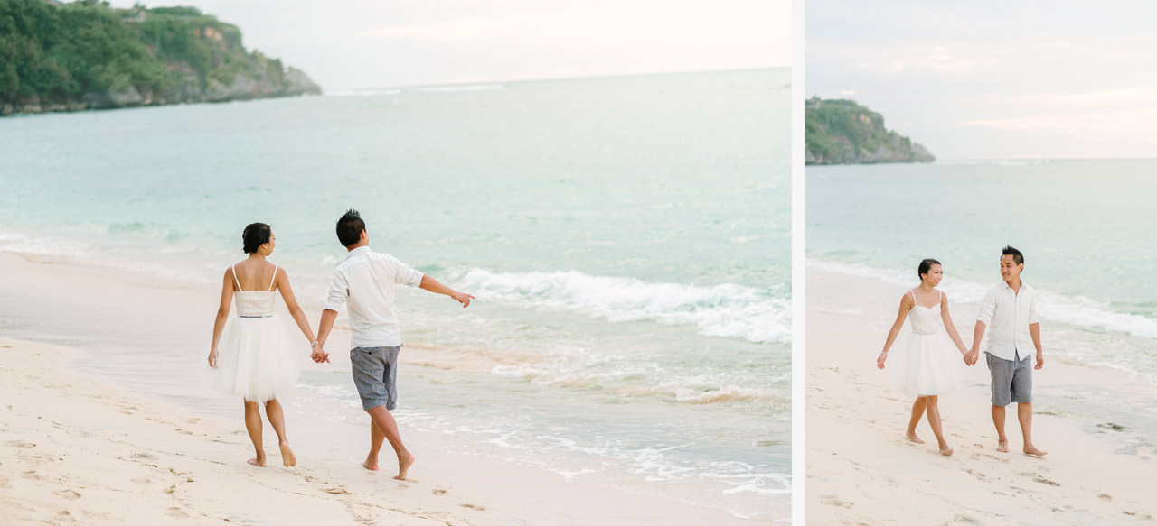 C&D: Honeymoon Photography Uluwatu Beach Bali 10