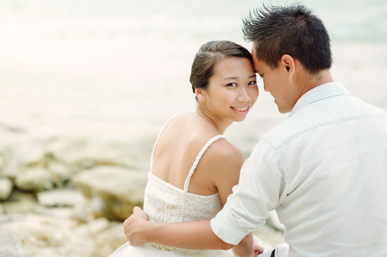 C&D: Honeymoon Photography Uluwatu Beach Bali 13