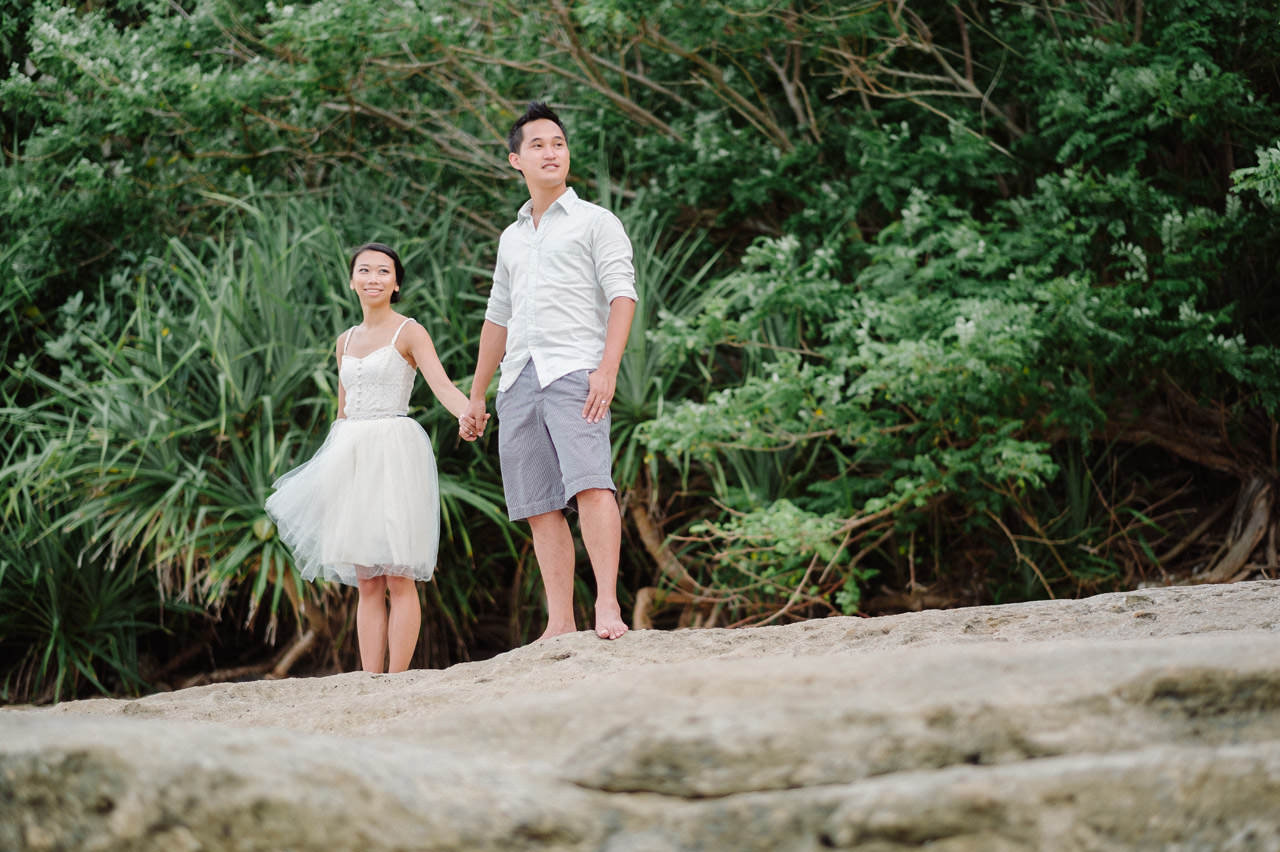 C&D: Honeymoon Photography Uluwatu Beach Bali 19