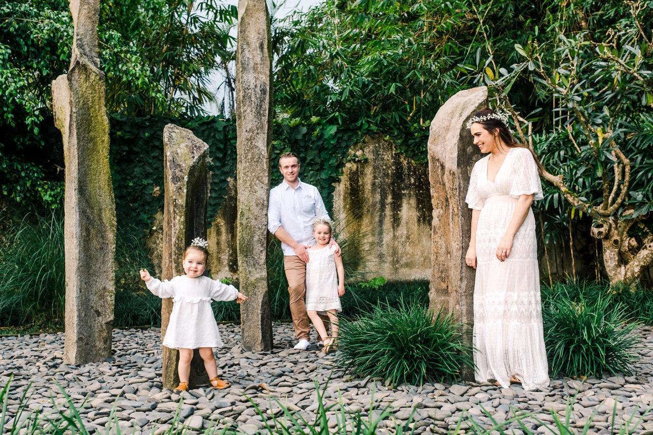 C&D: Ubud Bali Family Portrait 1