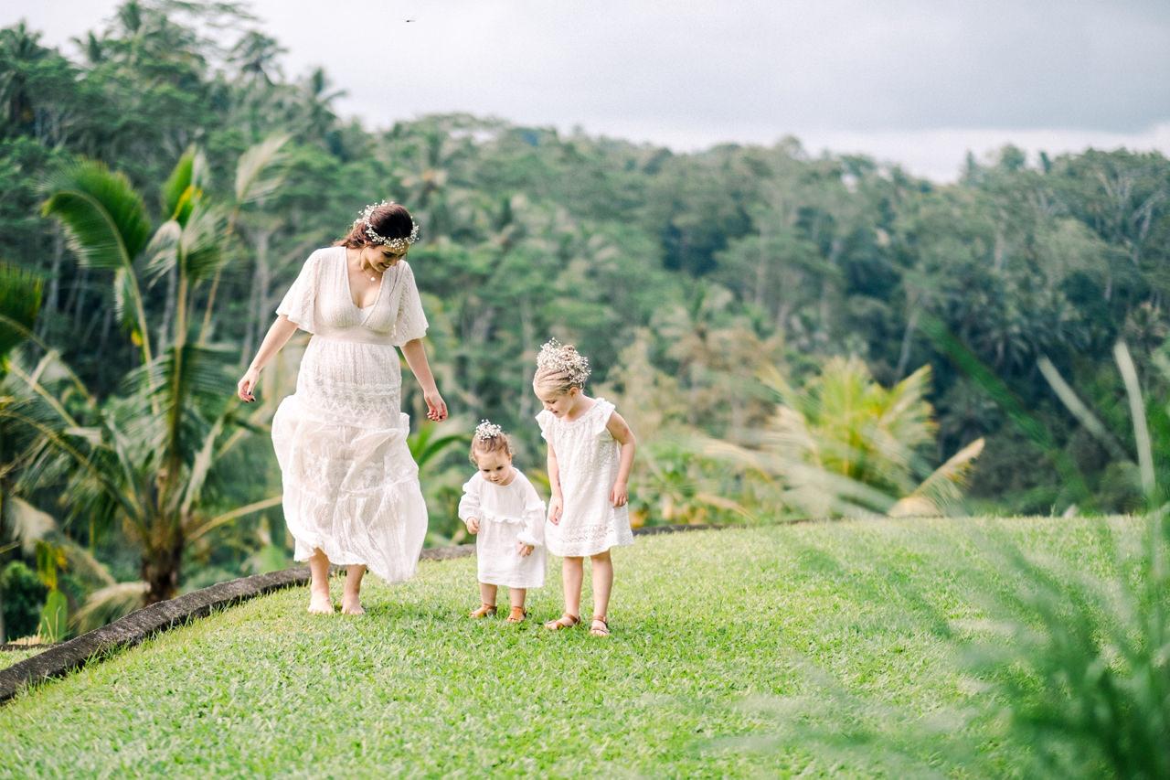 Ubud Bali Family Portrait 4