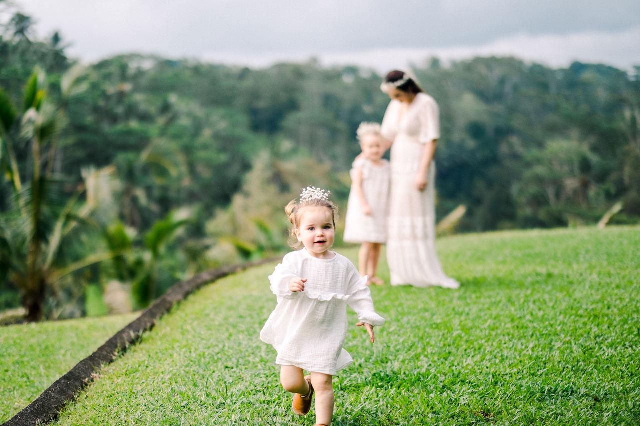 Ubud Bali Family Portrait 5