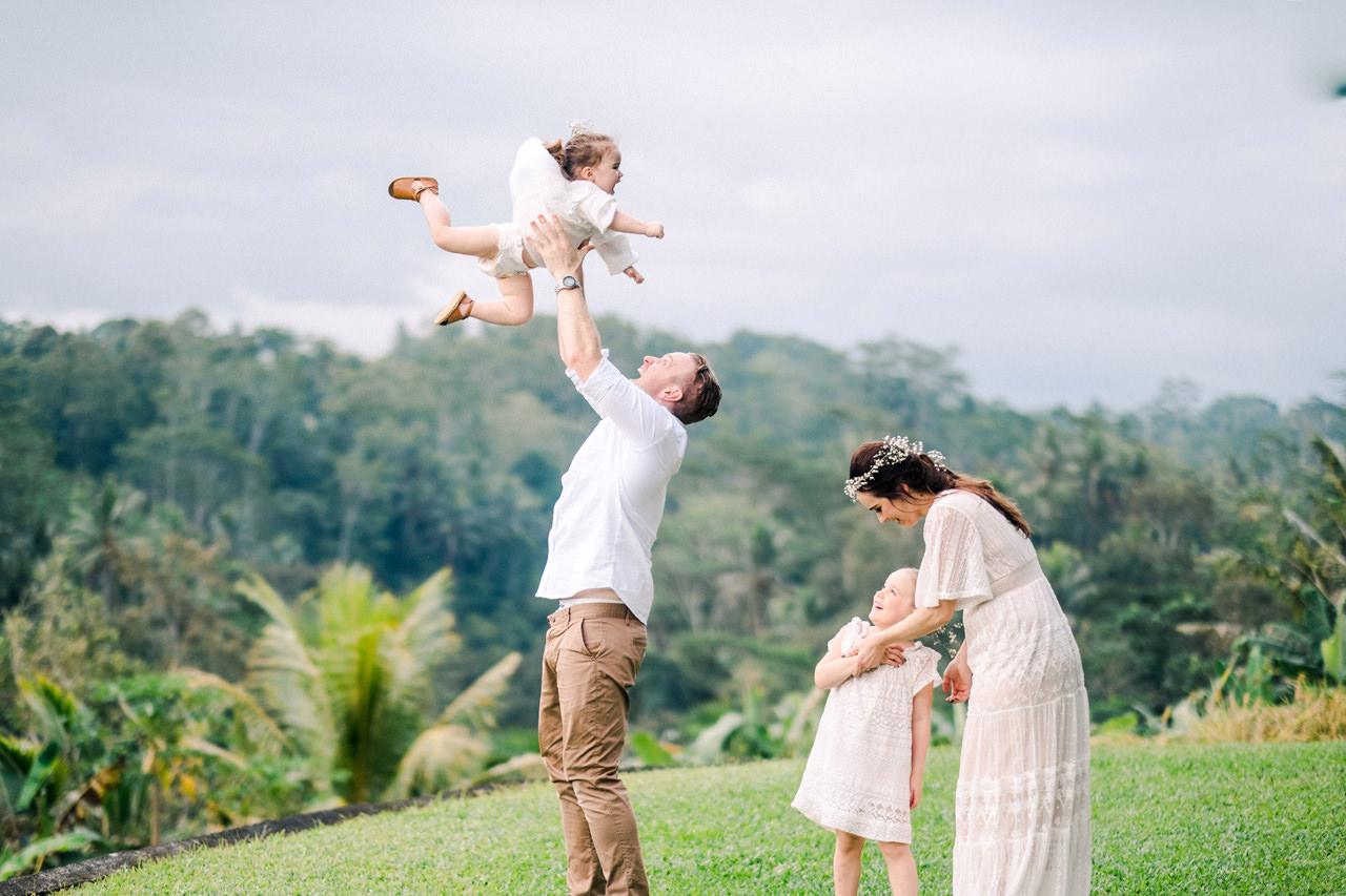 C&D: Ubud Bali Family Portrait 8