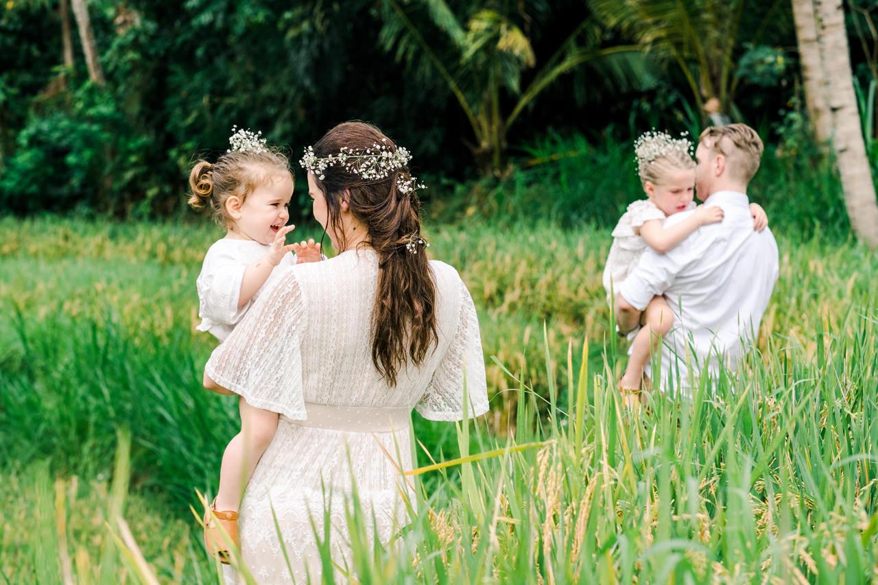 Ubud Bali Family Portrait 11
