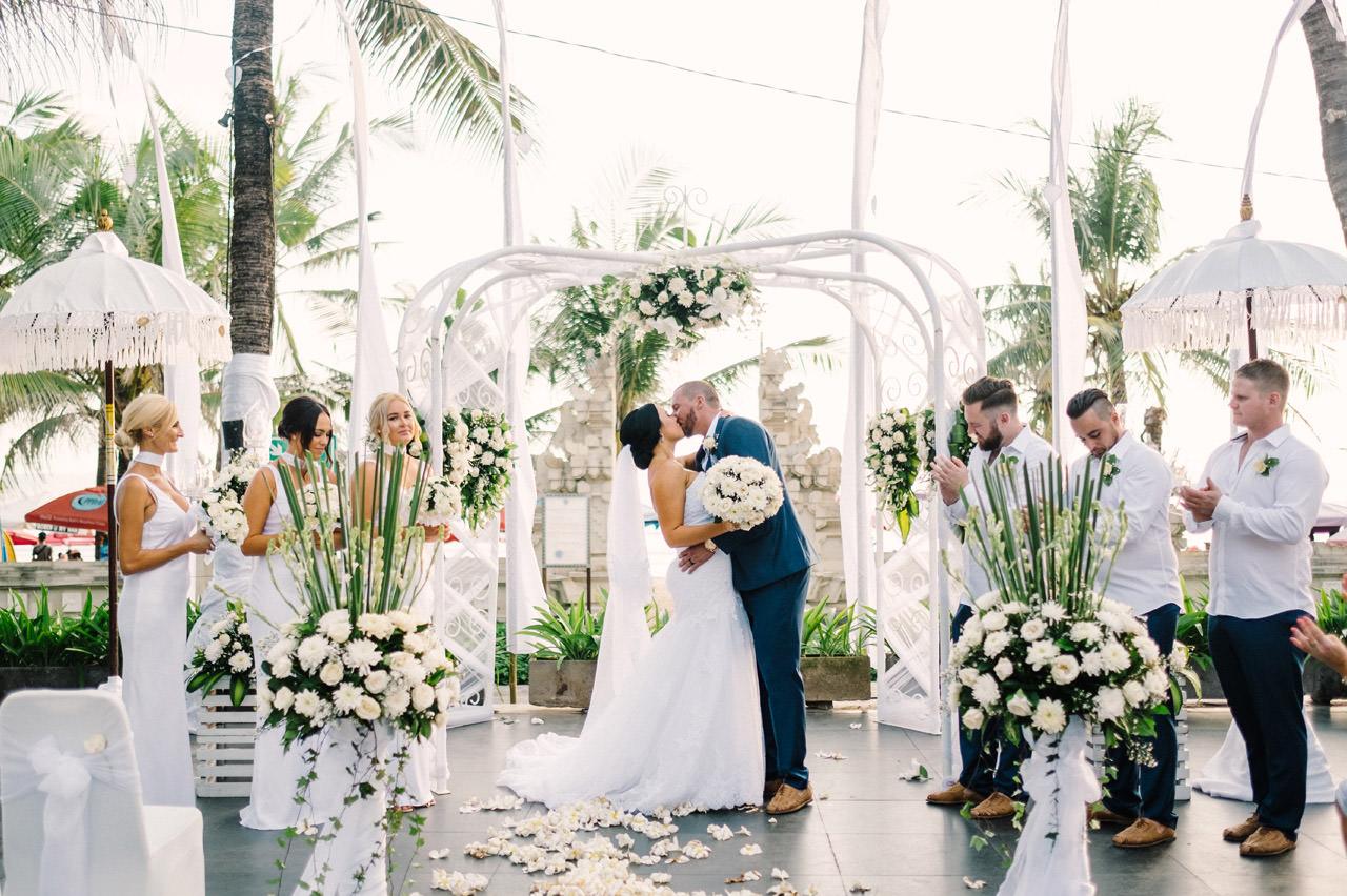 Courtney and Dan: Bali Wedding Photography at Legian Beach 40