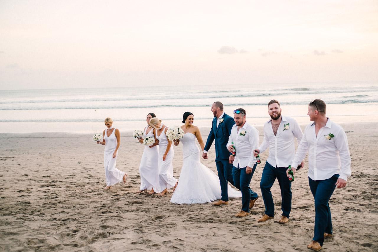 Courtney and Dan: Bali Wedding Photography at Legian Beach 50