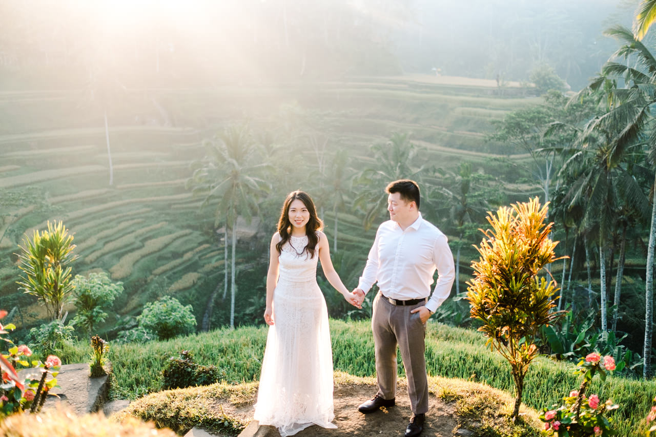 C&H: Half-day Bali Prewedding Photography 1
