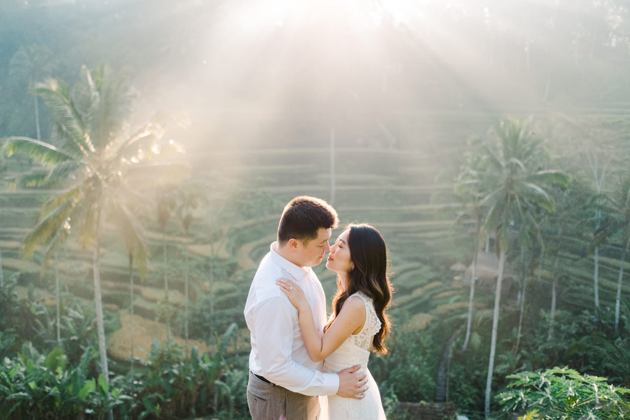 C&H: Half-day Bali Prewedding Photography 5