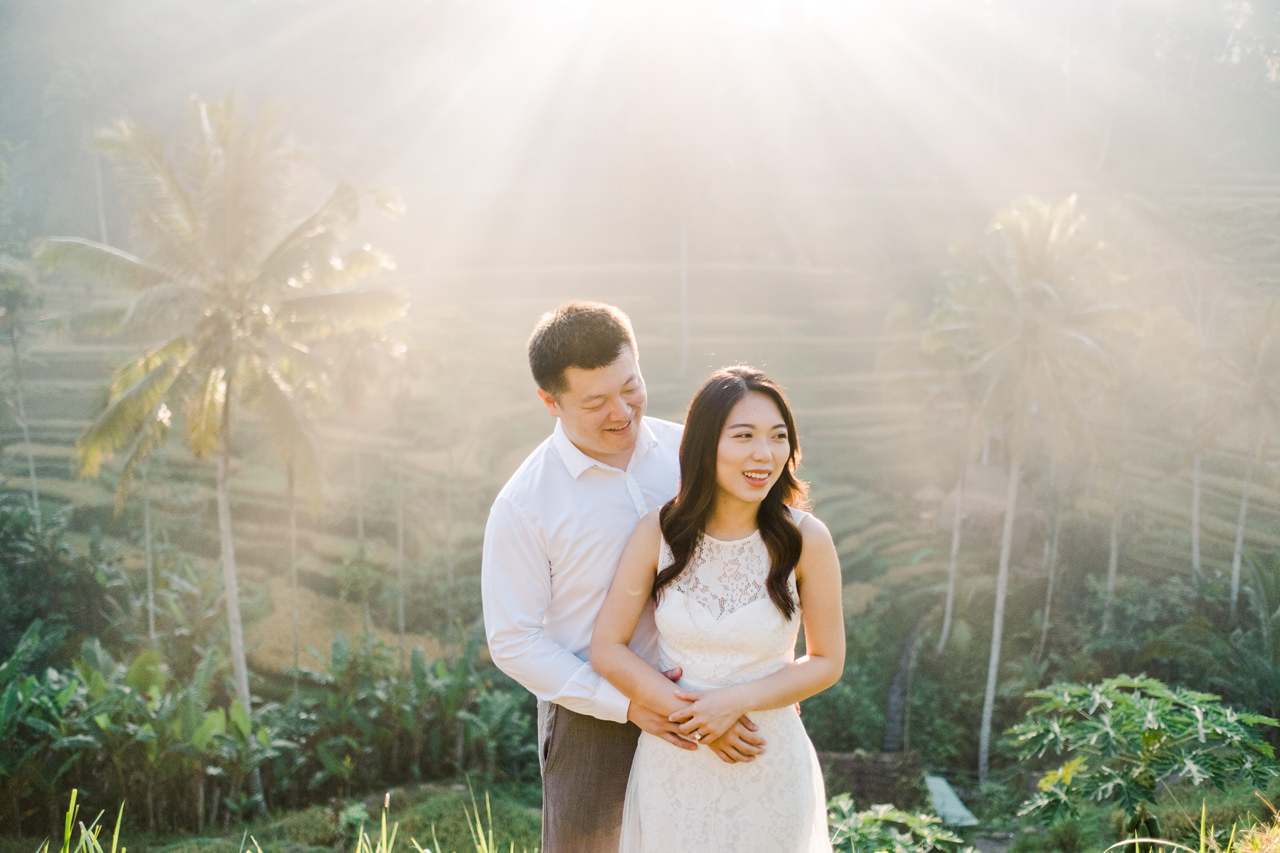 C&H: Half-day Bali Prewedding Photography 7