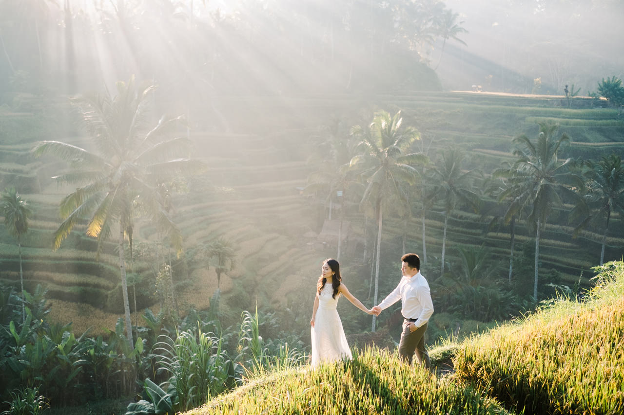 C&H: Half-day Bali Prewedding Photography 9