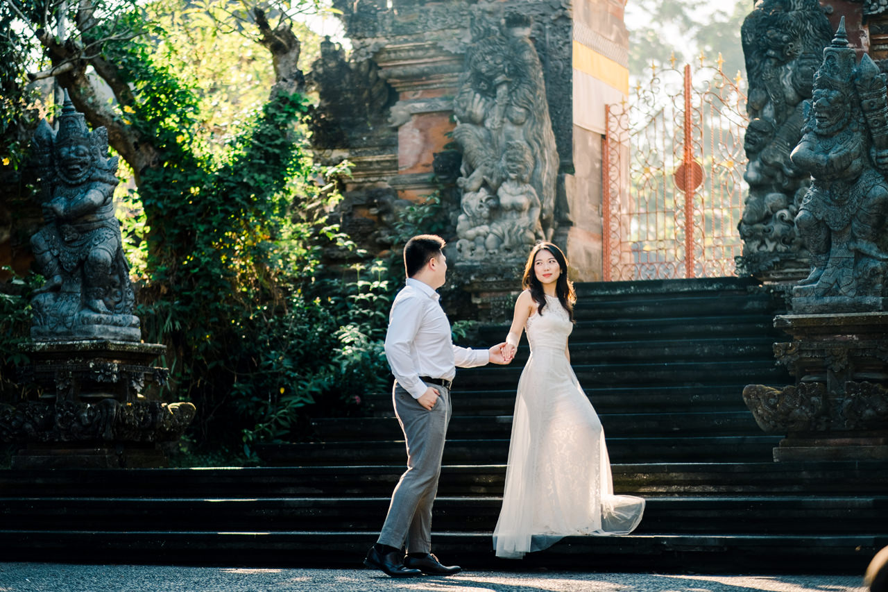 C&H: Half-day Bali Prewedding Photography 13