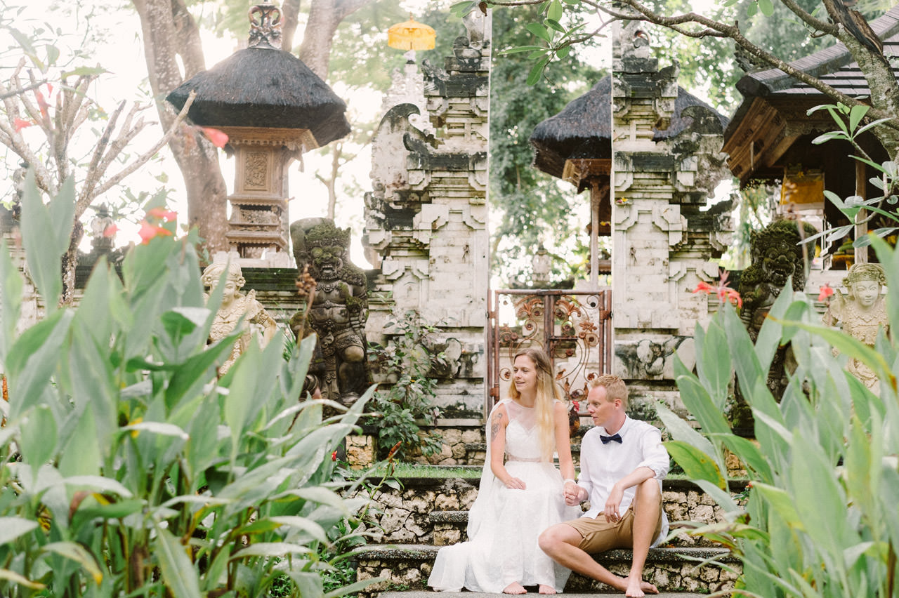 Casper & Kirstine: Elopement Photography at Segara Village Hotel Bali 22