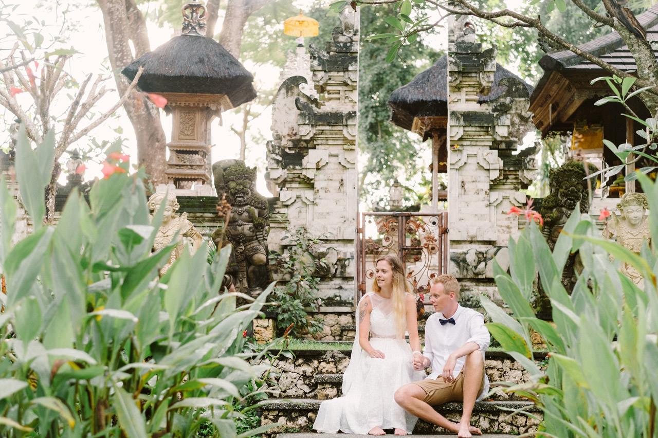 Casper & Kirstine: Elopement Photography at Segara Village Hotel Bali 22