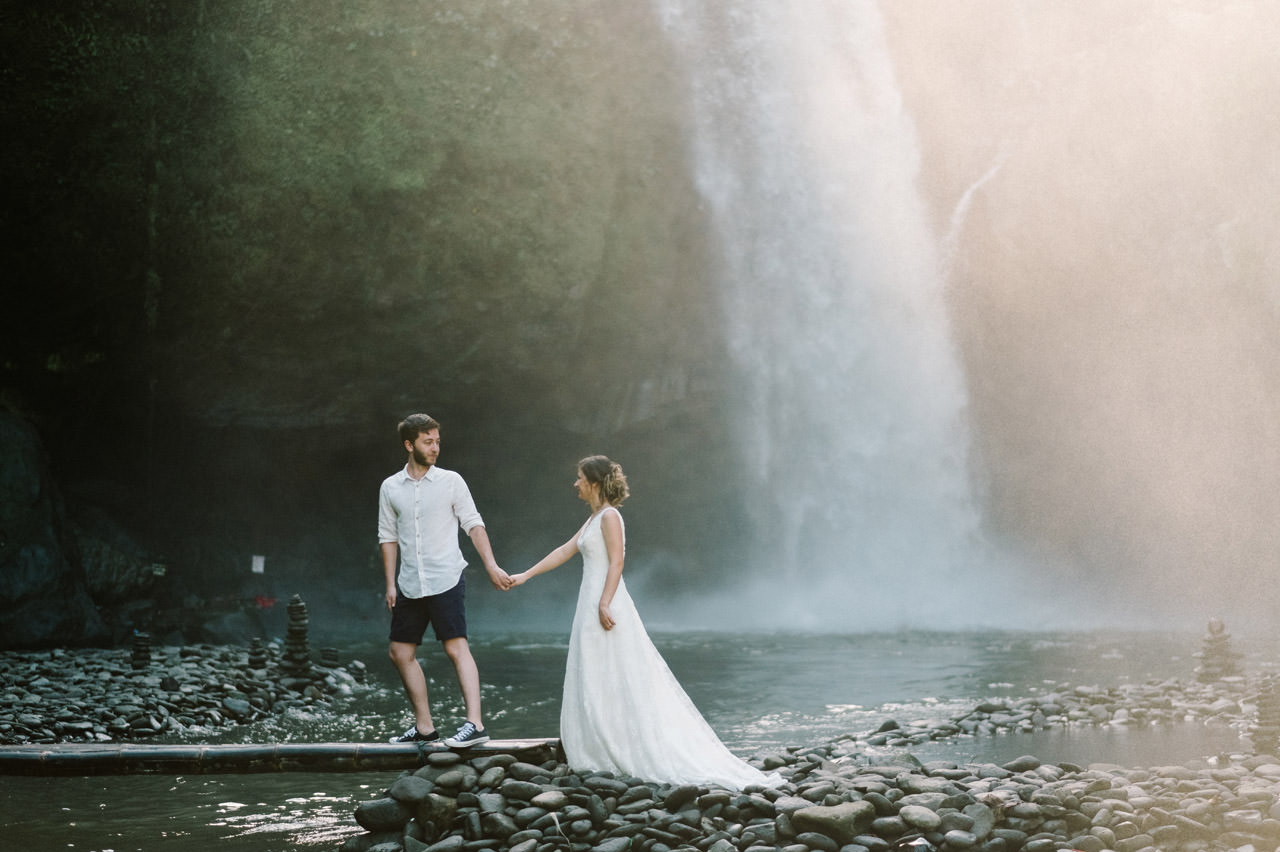 Caglar & Oguz: Tegenungan Waterfall Bali Honeymoon Shoot 6