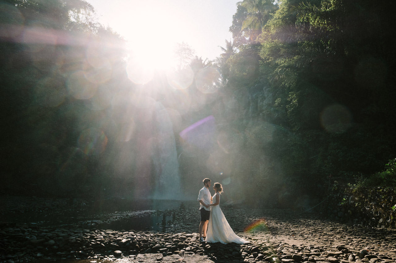 Caglar & Oguz: Tegenungan Waterfall Bali Honeymoon Shoot 7