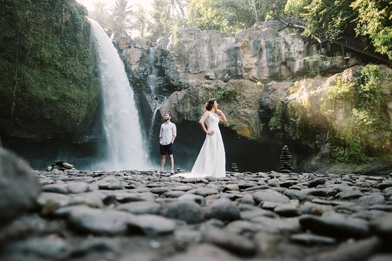 Caglar & Oguz: Tegenungan Waterfall Bali Honeymoon Shoot 13