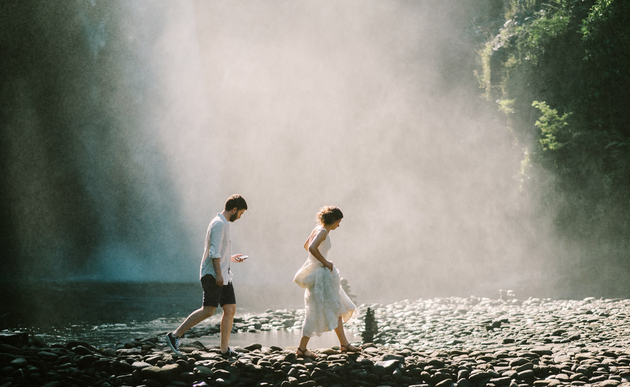 Caglar & Oguz: Tegenungan Waterfall Bali Honeymoon Shoot 14