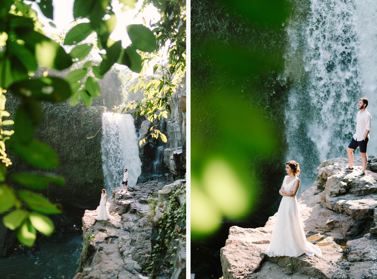 Caglar & Oguz: Tegenungan Waterfall Bali Honeymoon Shoot 18