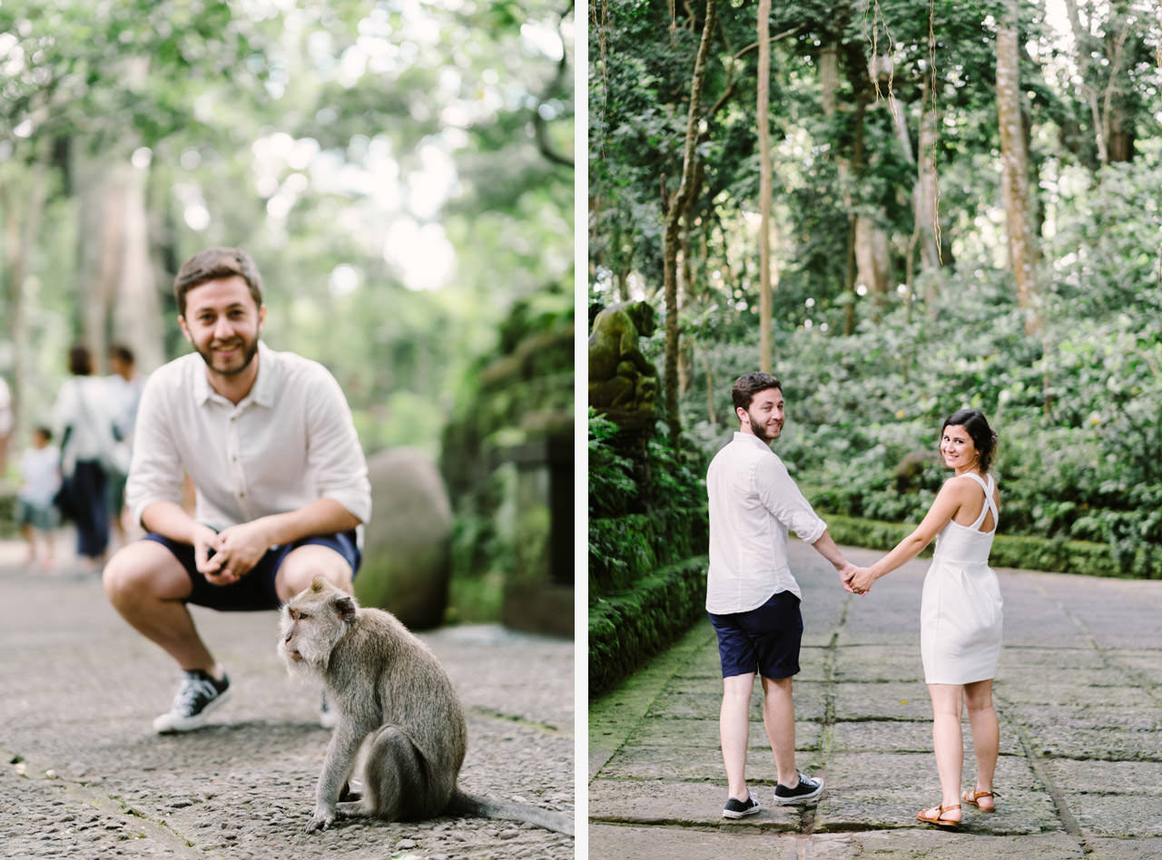 Caglar & Oguz: Tegenungan Waterfall Bali Honeymoon Shoot 27