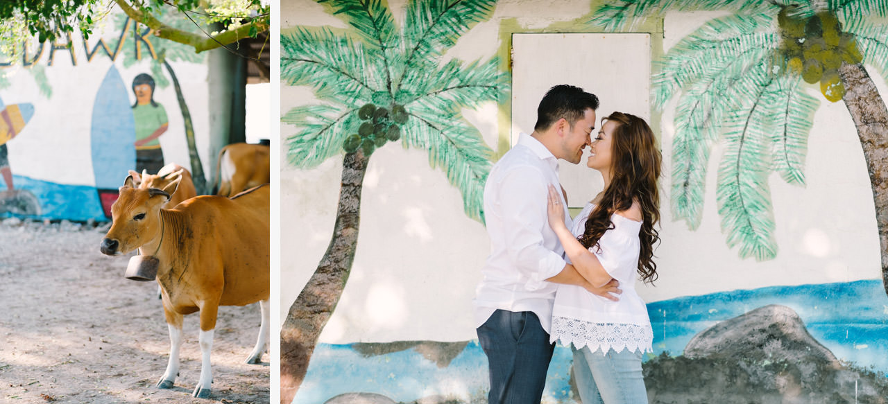 Cathy & Rob: Serangan Island Bali Pre-wedding Shoot 14